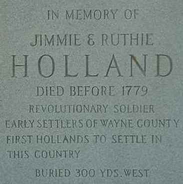 Holland family genealogy and history